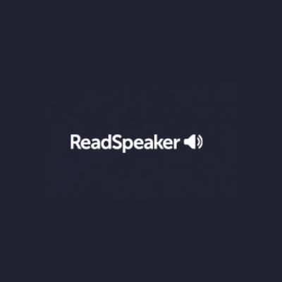 Readspeaker cursos d'anglès en línia