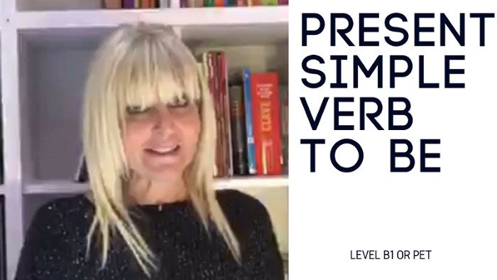 Present simple  – Verb To be