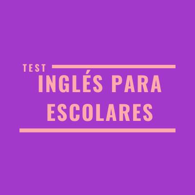 fer un test d'anglès per a escolars abans de decidir el curs d'anglès a triar.