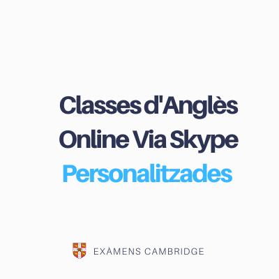 Classes d'Anglès Online Via Skype Particulars