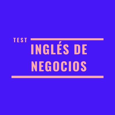 test d'anglès per a negocis