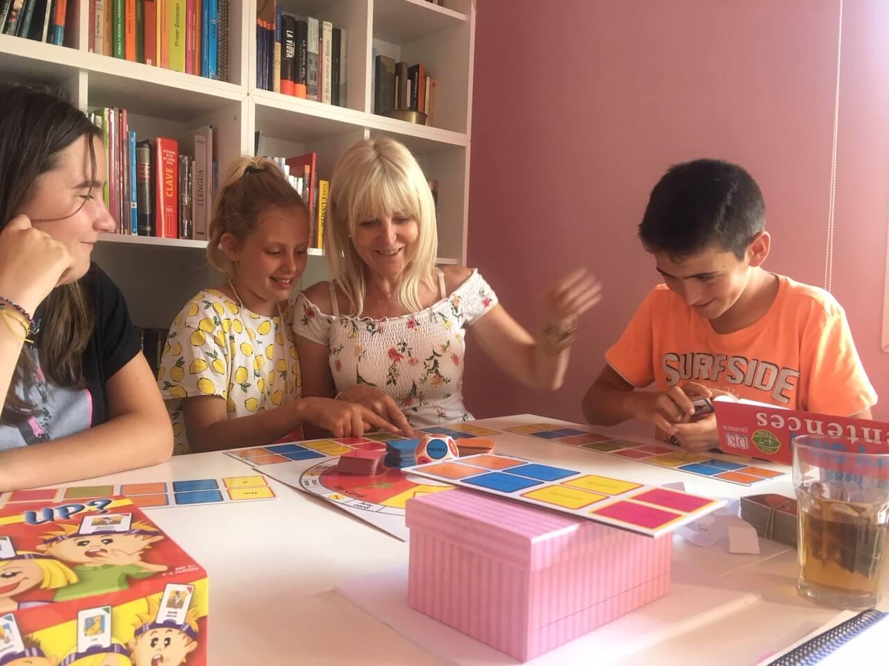 classes d'anglès amb els més petits